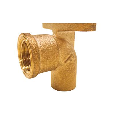 銅管用逆座付き水栓エルボ <GZRF>