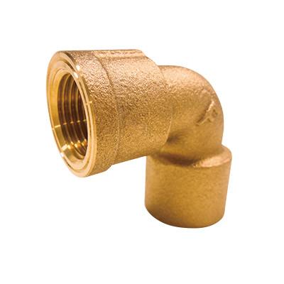 銅管用水栓エルボ <GEF>