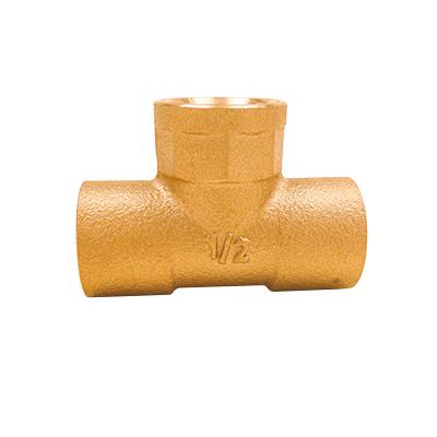 銅管用水栓チーズ <GTF>