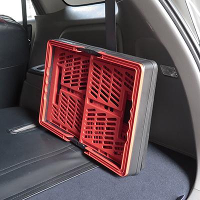 使わないときは車の中にコンパクト収納