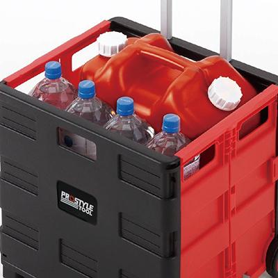 ペットボトル等の重い荷物の運搬に